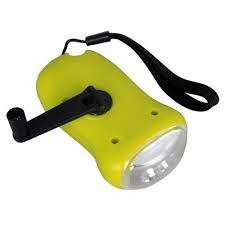 le de poche a manivelle le de poche 3 leds rechargeable dynamo manivelle solaire