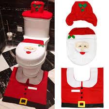 araus weihnachten toilettensitzbezug weihnachtsdeko wc sitze