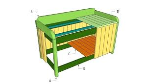 wooden patio storage box plans bench storage box plans bench chest