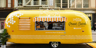 Bumble Created A Food Truck That Served Actual Catfish To Promote A ... New York December 2017 Nyc Love Street Coffee Food Truck Stock Nyc Trucks Best Gourmet Vendors Subs Wings Brings Flavor To Fort Lauderdale Go Budget Travel Street Sweets Mobile Midtown Mhattan Yo Flickr Dominicks Hot Dog Eat This Ny Bash Boston And Providence The Rhode Less Finally Get Their Own Calendar Eater Four Seasons Its Hyperlocal The East Coast Rickshaw Dumplings Times Square Foodtrucksnewyorkcityathaugustpeoplecanbeseenoutside