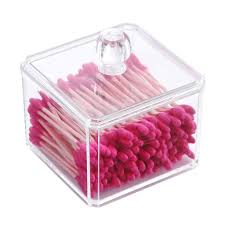 wattestäbchen spender bad organizer kosmetik organizer wattepads aufbewahrungsbox badezimmer bad aufbewahrung organizer bad wattestäbchen