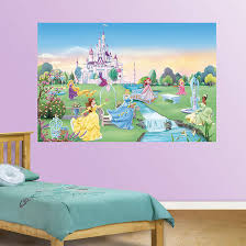 Fathead Princess Wall Decor by Disney Princess Wall Art Decals Color The Walls Of Your House