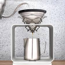 Science Coffee Modern Pour Over Stand
