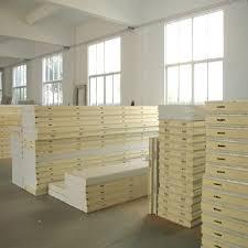 panneau pour chambre froide chambre froide entrepôt d isolation sandwich panneau de plancher pu