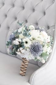 Our Grey Navy And Cream Bouquet Is A Rustic Beauty This Stunning Has