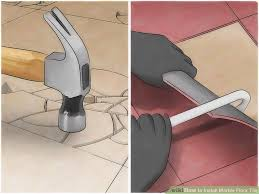 Tavy Tile Spacers Uk by How To Install Marble Floor Tile With Pictures Wikihow