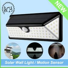 motion sensor outdoor ul listed led solar wall pack light buy