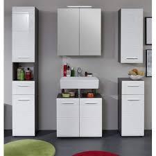 badezimmer kombination hochglanz weiß und sardegna grau