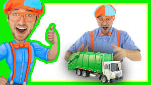 Compilation Of Blippi Toys Videos | Garbage Trucks And More! - YouTube