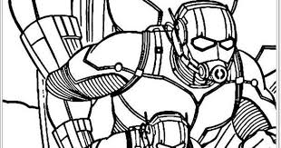 Avengers Ant Man Coloring Pages