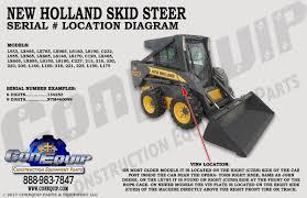 100 Heavy Truck Vin Decoder Serial Number Location For Your New Holland Skidsteer Loader