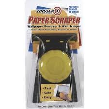 Zinsser Popcorn Ceiling Patch Msds by Zinsser Paper Scraper Wallpaper Remover Tool 2986 Do It Best