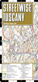 Streetwise Tuscany Map