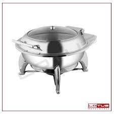 Round Chafing Dish With Fuel Stand