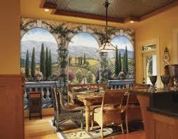 Tuscan Villa Wall Mural Italian Murals