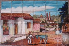 appealing mexican tile murals 125 mexican tile murals for sale