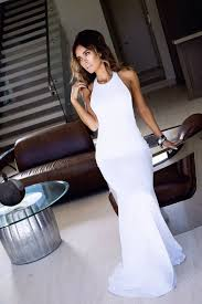 25 white prom dresses ideas cheap long white