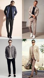 Dark And Light Outfits For Smart Casual Dress Codes