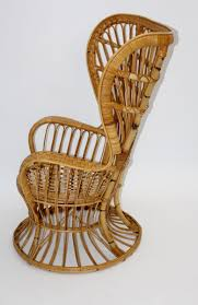Italian Rattan Peacock Chair By Lio Carminati For Sale At Pamono Italian 1940s Wicker Lounge Chair Att To Casa E Giardino Kay High Rocking By Gloster Fniture Stylepark Natural Rattan Rocking Chair Vintage Style Amazoncouk Kitchen Best Way For Your Relaxing Using Wicker Sf180515i1roh Noordwolde Bent Rattan Design Sold Mid Century Modern Franco Albini Klara With Cane Back Hivemoderncom Yamakawa Bamboo 1960s 86256 In Bamboo And Design Market Laze Outdoor Roda