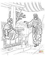 Coloring Page Of Mark 213 14