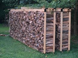 fire wood storage plans diy firewood storage rack plans quick