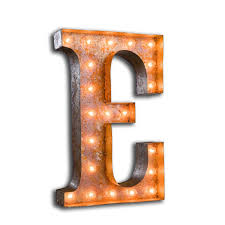 Hot Sale LED Night Light Lamp Kids Marquee Letter Lights Vintage