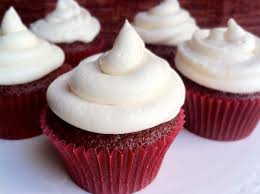 Red Velvet Cupcakes In Spanish