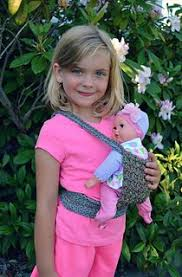 BeeBopBaby Baby Doll Carrier Best Front Snuggle Carrier Pink