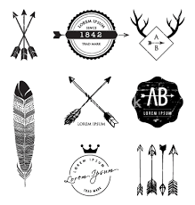 Arrow Crown And Hipster Image