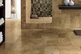 bathroom travertine tile floors and flooring in and near naples