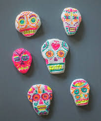Easy Sugar Skull Day Of by Things To Make And Do Crafts And Activities For Kids The Crafty