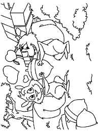 A Valentines Day Gift Coloring Page