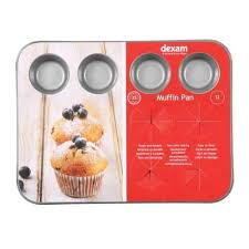 Dexam Non Stick 12 Cup Mini Muffin Pan