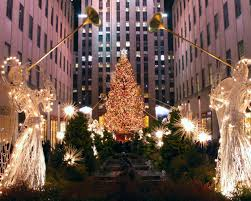 Rockefeller Plaza Christmas Tree Cam by Stunning Holiday Light Displays From Around The World