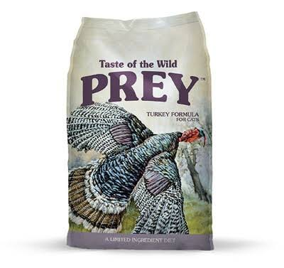 Taste of The Wild Prey Limited Ingredient Dry Cat Food - Turkey-6 lb