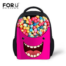 sweet candy color baby girls bags for kids 12 inch
