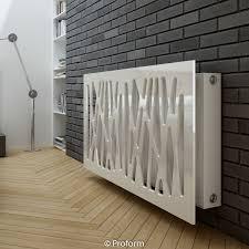 Modern Wall Radiator Cover Grey MDF 4 Sizes