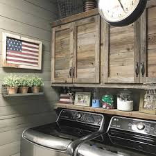 Beautiful Rustic Laundry Room