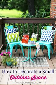 Kirklands Outdoor Patio Furniture by Loveyourlook How To Decorate A Small Outdoor Space My Kirklands