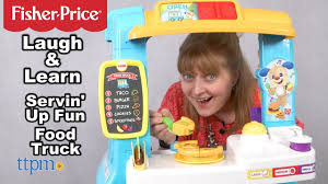 Laugh & Learn Servin' Up Fun Food Truck From Fisher-Price - YouTube Fisherprice Press N Go Monster Truck Green Toysrus Smallest Super Duty Ever Introduces Lifelike Toy Vintage Fisher Price Husky Helpers Dump Wguys Scoop 302 Little People Planes Cars Trucks And Trains Boy Amazoncom Hero World Rescue Heroes Fire With Ride On Toys Servin Up Fun Food Youtube The Helper Cement Mixer From In The Early Die Cast Vehicle Blaze New Free Wheelies All About Ritchie Brothers