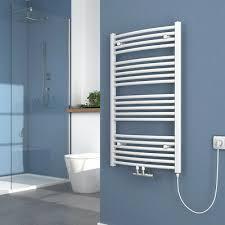 elektrisch badheizkörper 100x60cm weiß elektrischer