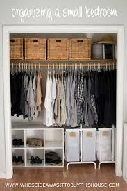 Best 25 Small Closet Organization Ideas On Pinterest