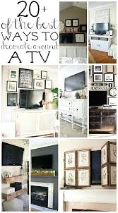 Furniture To Go Under Wall Mounted Tv How Decorate Around A For