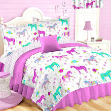 Twin Horse Bedding by Amazon Com 10pc Full Size Pink Pony Horse Room Ensemble
