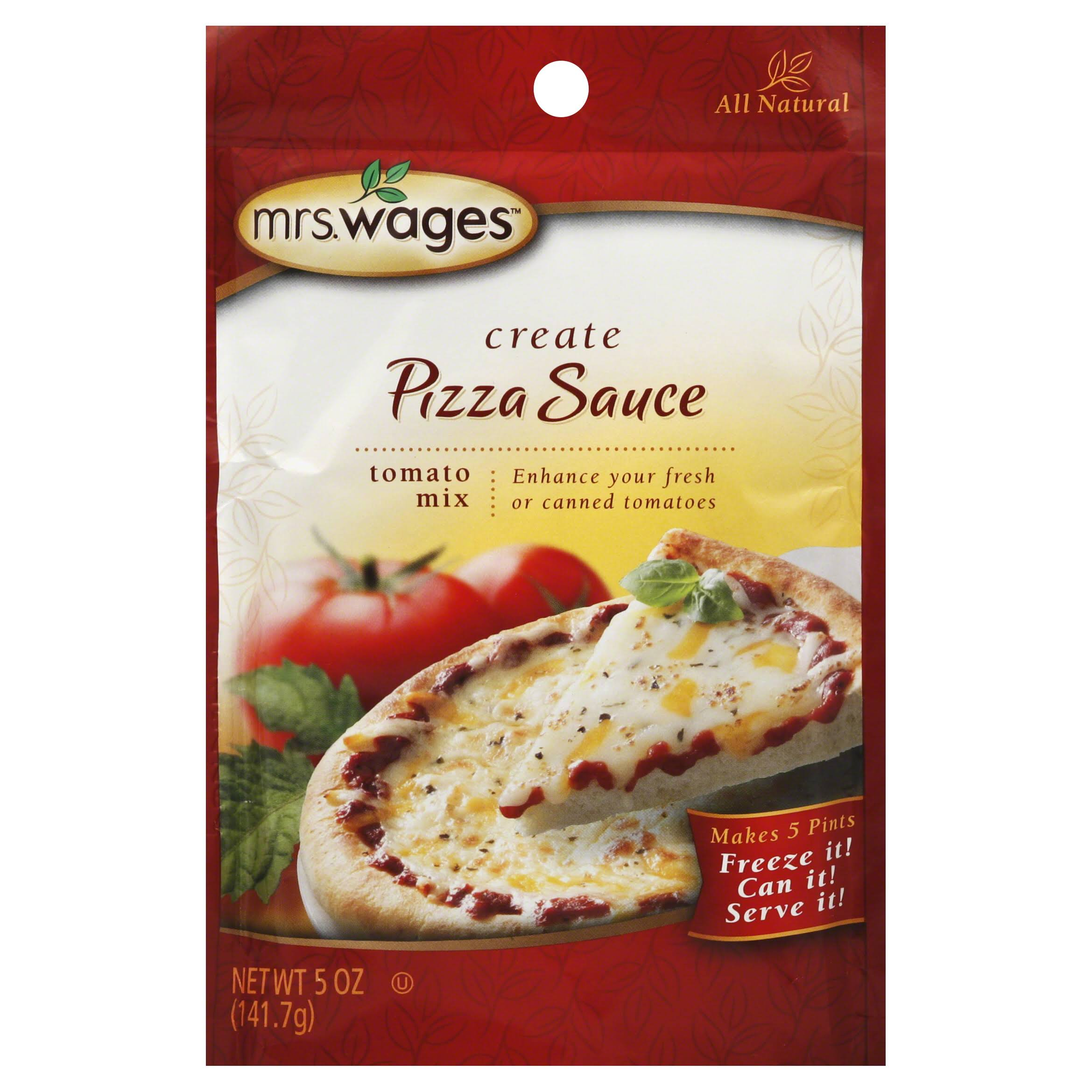 Mrs. Wages Pizza Sauce Tomato Mix - 141.7g