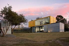 100 House Made From Storage Containers Huiini Made Of Four Shipping Containers Located In