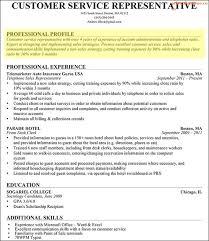 Skilled Profile Resume Professional