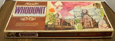 Board Games Reviews Deduction Whodunit Mystery Detective Game 1972 Review And Instructions