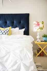 Headboard Designs For King Size Beds by Tufted Headboard How To Make It Own Your Own Tutorial