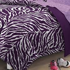 Amazon My Room Zebra Purple Ultra Soft Microfiber Comforter Sheet Set Multi Colored Twin X Large Home Kitchen
